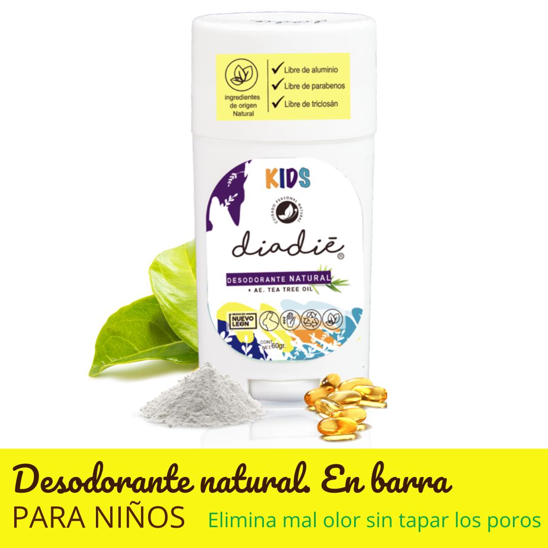 DIADIE - Desodorante kids en barra