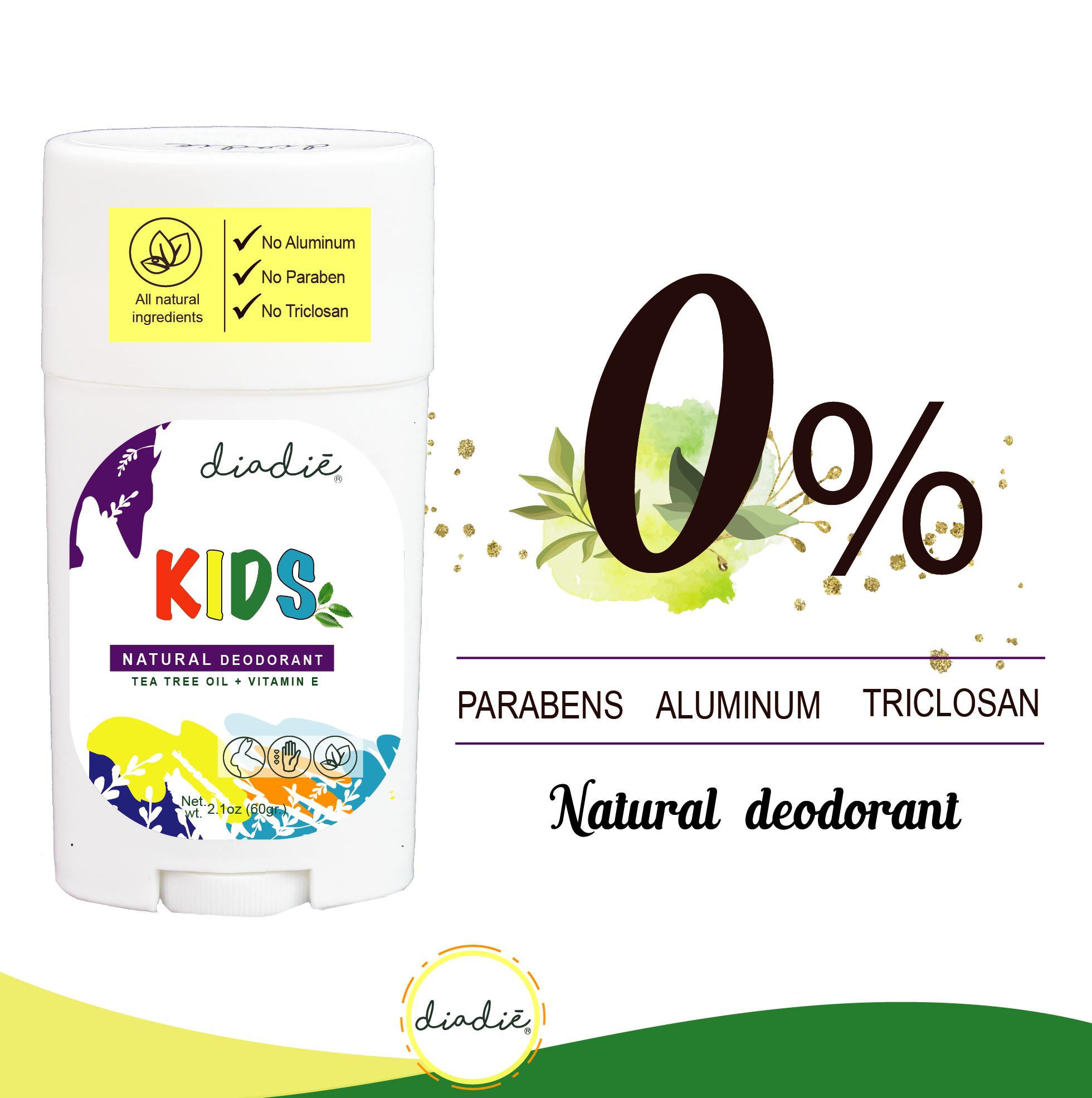 kids natural deodorant